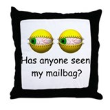 Mail Carrier Throw Pillow