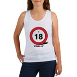 Turning Eighteen Women's Tank Top