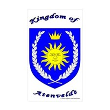 Kingdom of Atenveldt Rectangle Sticker 50 pk)