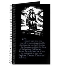 Mark Twain Inspirational Quote Journal