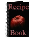 Red Apple Blank Recipe Book 1