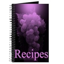 Purple Grape Blank Recipe Book 2