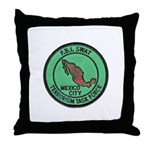 FBI SWAT Mexico City Throw Pillow