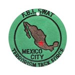 FBI SWAT Mexico City Ornament (Round)