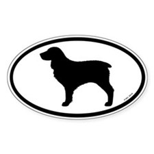 Boykin Spaniel Oval Sticker (10 pk)