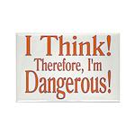 I Think! Rectangle Magnet (100 pack)