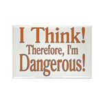 I Think! Rectangle Magnet