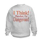 I Think! Kids Sweatshirt