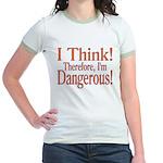I Think! Jr. Ringer T-Shirt