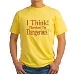 I Think! Yellow T-Shirt