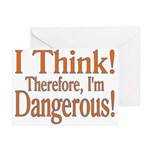 I Think! Greeting Cards (Pk of 20)