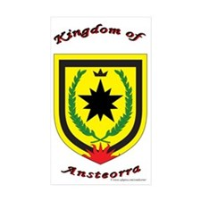 Ansteorra Rectangle Sticker 10 pk)