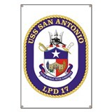 USS San Antonio LPD 17 Banner
