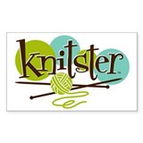 Knitster Decal