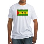 Sao Tome & Principe Fitted T-Shirt