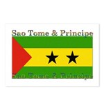 Sao Tome & Principe Postcards (Package of 8)