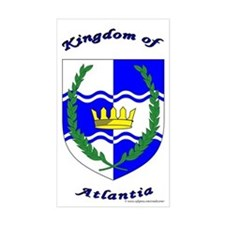 Atlantia Rectangle Decal