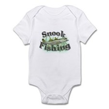 Snook Fishing Infant Bodysuit