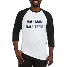 Half Man Half Tapir Baseball Jersey