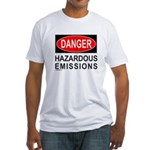 DANGER Fitted T-Shirt