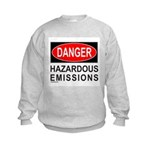 DANGER Kids Sweatshirt