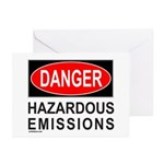 DANGER Greeting Cards (Pk of 10)