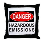 DANGER Throw Pillow