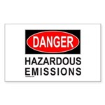 DANGER Rectangle Sticker 50 pk)
