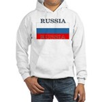 Russia Russian Flag Hooded Sweatshirt