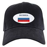 Russia Russian Flag Black Cap