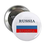 Russia Russian Flag Button