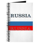 Russia Russian Flag Journal