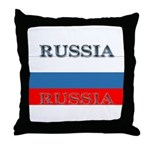 Russia Russian Flag Throw Pillow