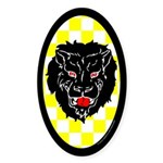 Populace Badge One Oval Sticker (10 pk)