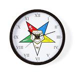 OES Wall Clock - Roman Numerals