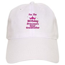 1st Birthday Princess's Great Baseball Cap