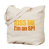 Kiss an SP Tote Bag