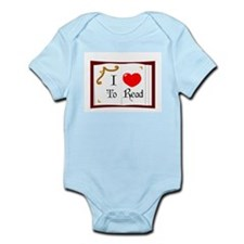 I Love To Read Infant Bodysuit