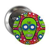 "Calaveras Sugarskulls 2.25"" Button"
