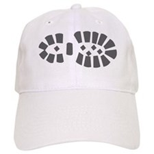 Hiking Boot Print Baseball Cap