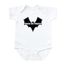 BLACK BAT - TRICK OR TREAT? Infant Creeper
