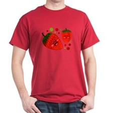 Cute Strawberries T-Shirt