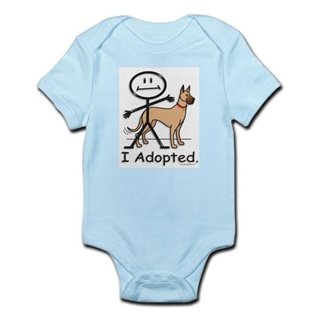 BusyBodies Great Dane (fawn) Infant Creeper