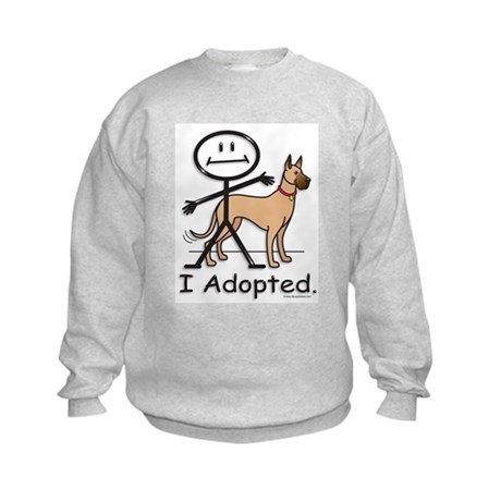 BusyBodies Great Dane (fawn) Kids Sweatshirt