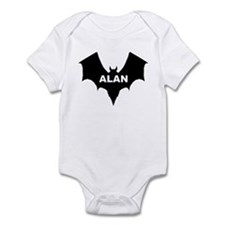BLACK BAT ALAN Infant Creeper