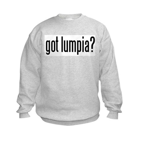 got lumpia? Kids Sweatshirt