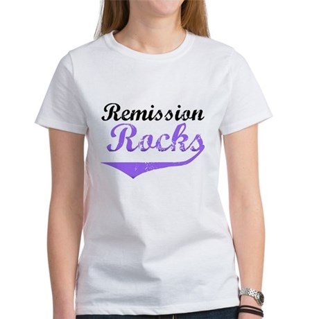 Remission Rocks Hodgkins Women's T-Shirt