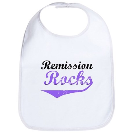 Remission Rocks Hodgkins Bib