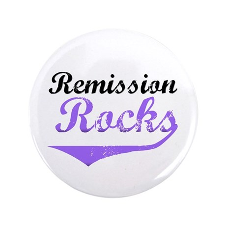 "Remission Rocks Hodgkins 3.5"" Button"
