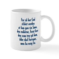 John 3:16 Norwegian Mug